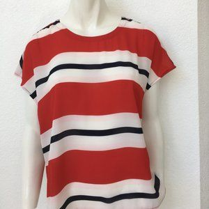 Tommy Hilfiger Women's Striped Top NWT Large